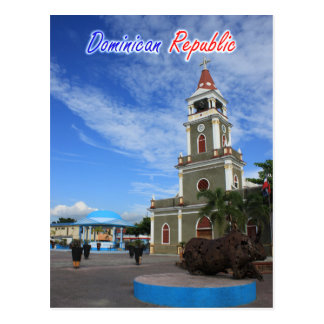 Dominican Republic Cathedral Postcard