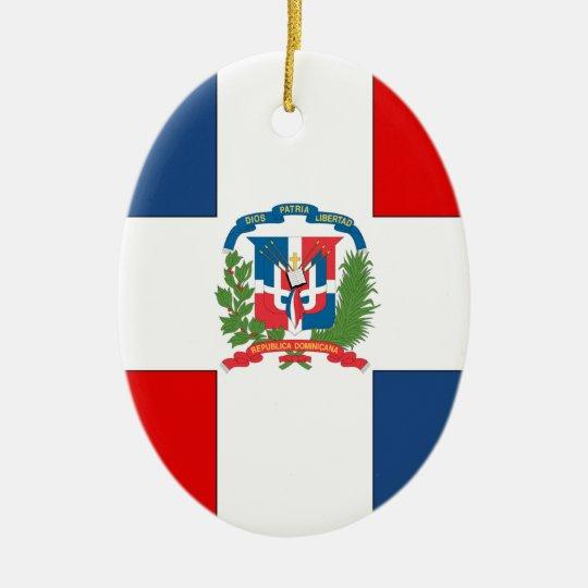 Dominican Republic Ceramic Ornament