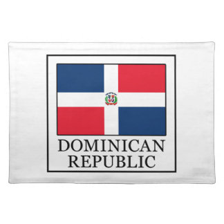 Dominican Republic Cloth Placemat