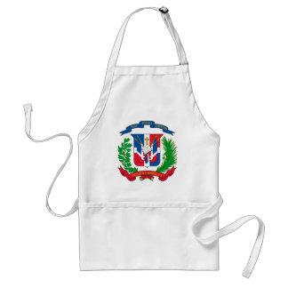 Dominican Republic Coat of Arms Adult Apron