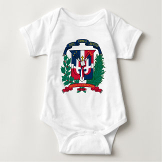 Dominican Republic coat of arms Baby Bodysuit