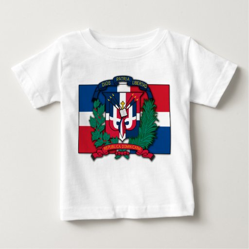 Dominican Republic Coat of Arms Baby T-Shirt