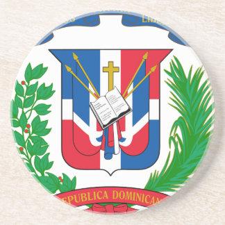 Dominican Republic Coat of Arms Beverage Coaster