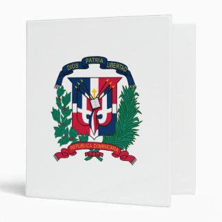 Dominican Republic Coat of Arms Binder