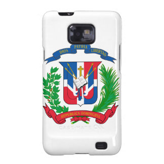 Dominican Republic Coat of Arms Samsung Galaxy SII Case