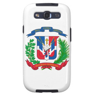 Dominican Republic Coat of Arms Galaxy SIII Cases