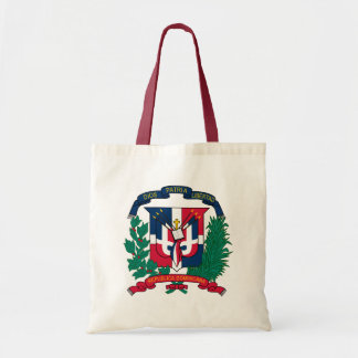 Dominican Republic Coat of Arms detail Tote Bags