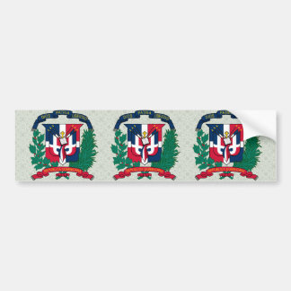 Dominican Republic Coat of Arms detail Bumper Sticker