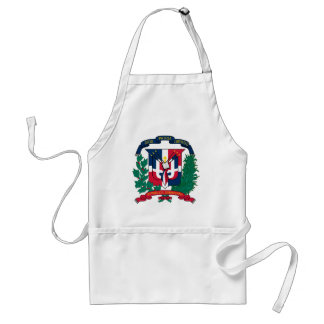 Dominican Republic Coat of arms  DO Adult Apron