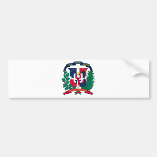 Dominican Republic Coat of arms  DO Bumper Sticker