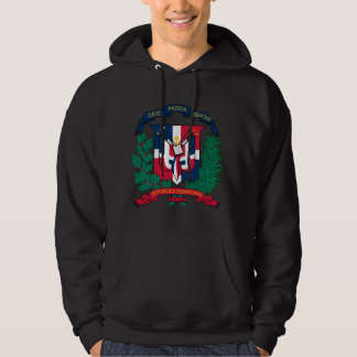 Dominican Republic Coat of arms  DO Hoodie