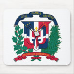 Dominican Republic Coat of arms  DO Mouse Mats