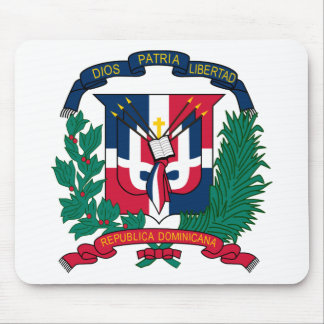 Dominican Republic Coat of arms  DO Mouse Pad