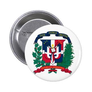 Dominican Republic Coat of arms  DO Pinback Button