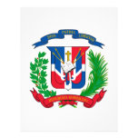 Dominican Republic Coat of Arms Customized Letterhead