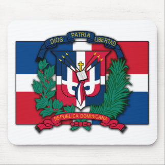 Dominican Republic Coat of Arms Mouse Pad