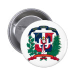 Dominican Republic coat of arms Pins