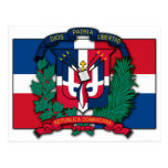 Dominican Republic Coat of Arms Post Cards