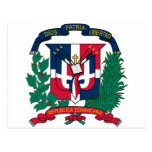 Dominican Republic coat of arms Postcards