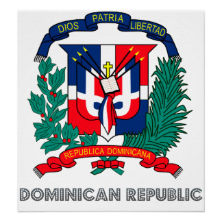 Dominican Republic Coat of Arms Posters