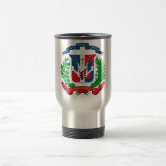 Dominican Republic Coat of Arms Travel Mug
