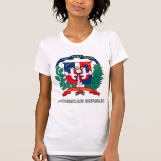 Dominican Republic Coat of Arms Tshirts