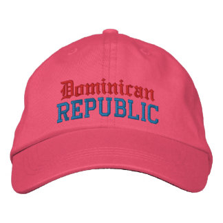 Dominican , Republic Custom Hat Embroidered Hat