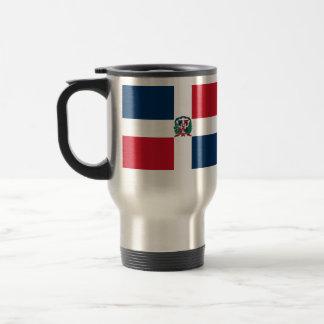 Dominican Republic, Denmark 15 Oz Stainless Steel Travel Mug