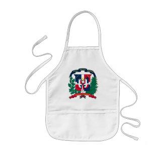 dominican republic emblem kids' apron