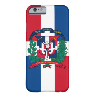 dominican republic emblem barely there iPhone 6 case