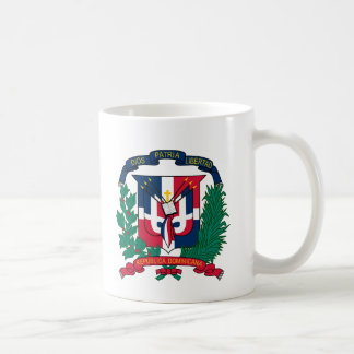 dominican republic emblem coffee mug