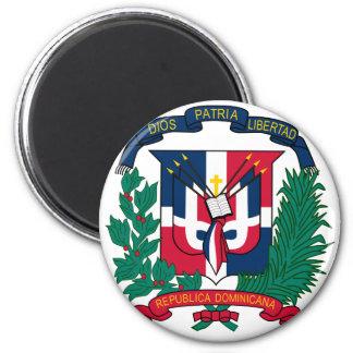 dominican republic emblem magnet