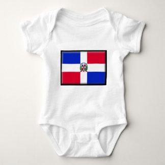Dominican Republic Flag Baby Bodysuit