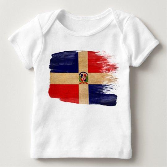 Dominican Republic Flag Baby T-Shirt