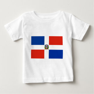 Dominican Republic Flag Baby T-Shirt