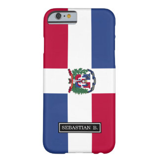 Dominican Republic Flag Barely There iPhone 6 Case