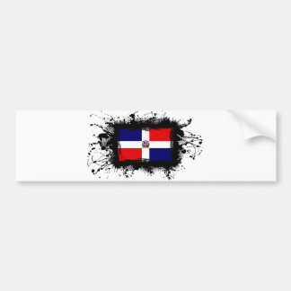 Dominican Republic Flag Bumper Stickers