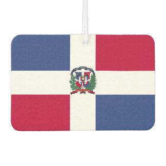 Dominican Republic Flag Car Air Freshener