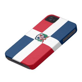 Dominican Republic Flag iPhone 4 Case-Mate Case