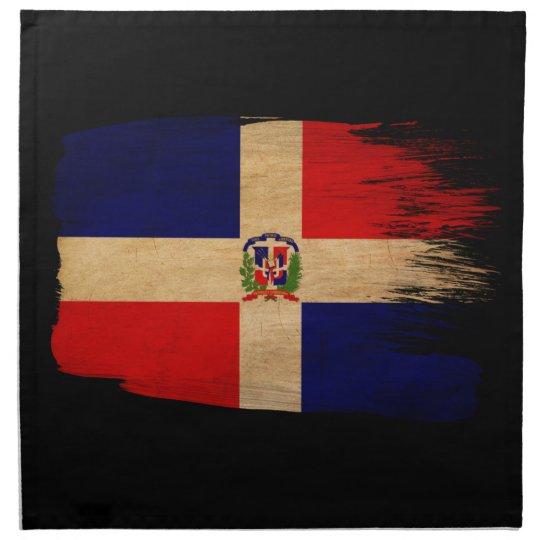 Dominican Republic Flag Cloth Napkin