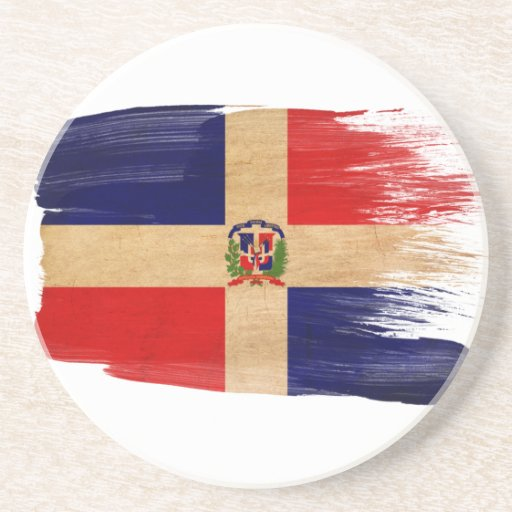 Dominican Republic Flag Coasters