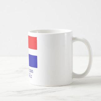Dominican Republic Flag Coffee Mug