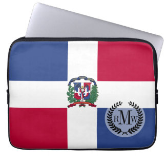 Dominican Republic Flag Computer Sleeve