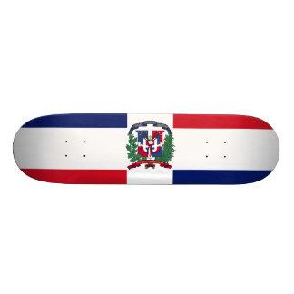 Dominican Republic Flag Custom Skate Board