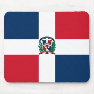 Dominican Republic Flag DO Mouse Pad