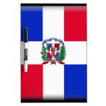 Dominican Republic Flag Dry Erase Whiteboard