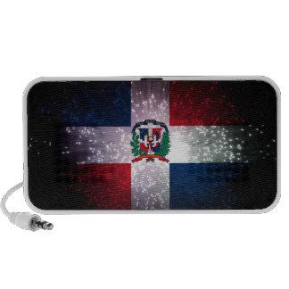 Dominican Republic Flag Firework PC Speakers