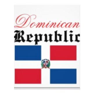 Dominican Republic flag Flyer