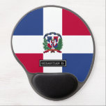 "Dominican Republic Flag Gel Mouse Pad<br><div class=""desc"">Celebrate homeland pride for the beautiful island country of the Dominican republic.</div>"
