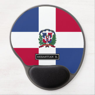 Dominican Republic Flag Gel Mouse Pad
